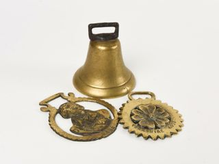 GROUPING OF 3 VINTAGE BRASS COllECTIBlES