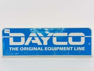 DAYCO ORIGINAl EQUIPMENT lINE METAl RACK TOPPER
