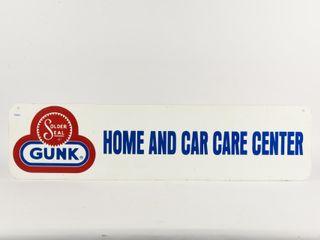 SOlDER SEAl GUNK HOME   CAR CARE CENTRE D S SIGN