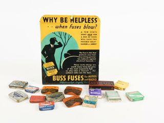 BUSS FUSES STORE COUNTER DISPlAY   CONTENTS