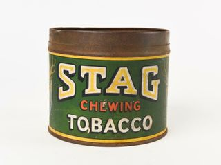 RARE STAG CHEWING TOBACCO ONE POUND CAN   NO lID