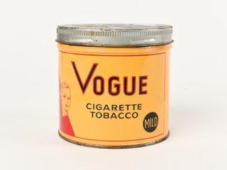VOGUE CIGARETTE TOBACCO MIlD 1 2 POUND CAN