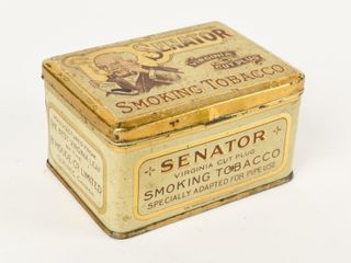 SENATOR SMOKING TOBACCO SMAll HOPE CHEST