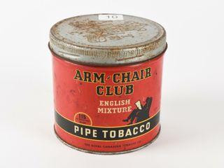ARM CHAIR ClUB PIPE TOBACCO 1 2 POUND CAN