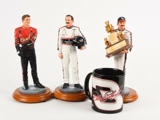 lOT OF 4  3 NASCAR DAlE EARNHARDT COllECTIBlES