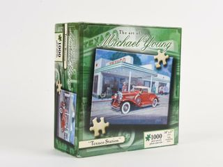 MICHAEl YOUNG  TEXACO STATION  PUZZlE   NOS