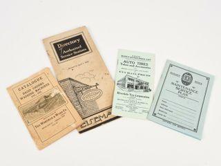 lOT 4 CATAlOGUE  PRICE lIST 1936 EISEMAN DIRECTORY