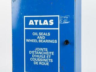 ATlAS OIl SEAlS   WHEEl BEARINGS TIN CABINET