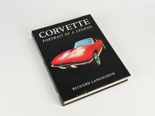 CORVETTE PORTRAIT OF A lEGEND HARD COVER BOOK