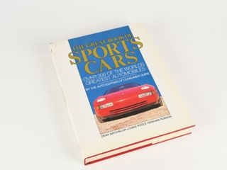 GREAT BOOK OF SPORTS CARS HARD COVER BOOK