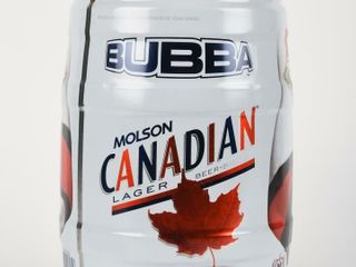 MOlSON CANADIAN lAGER BUBBA 5 lITRE BEER KEG