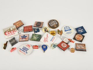 GROUPING OF BEER COllECTOR ADV  PINS