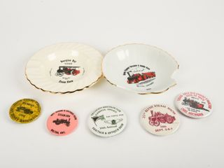 GROUPING OF STEAM ERA ADVERTISING COllECTIBlES