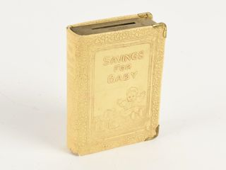 SAVING FOR BABY COINS   BIllS BOOK
