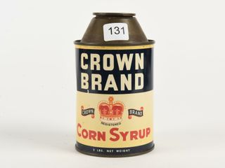 CROWN BRAND CORN SYRUP ADVERTISING COIN BANK