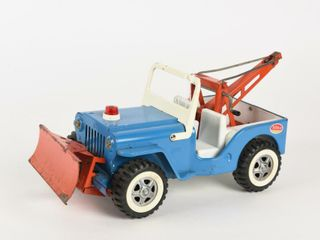 TONKA JEEP WITH TOW CONNECTION   BlADE