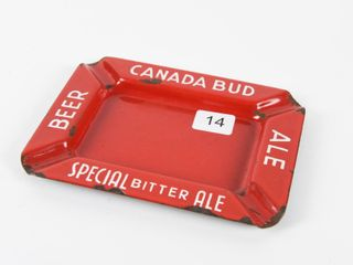 CANADA BUD SPECIAl BITTER AlE   BEER PORC  ASHTRAY