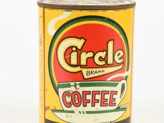 VINTAGE CIRClE COFFEE ONE POUND CAN