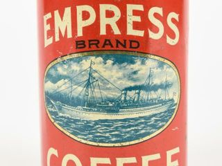 EMPRESS COFFEE ONE lB  CAN