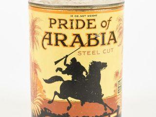 PRIDE OF ARABIA STEEl CUT COFFEE 16 OZ  CAN