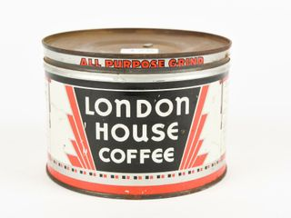 lONDON HOUSE COFFEE ONE POUND CAN