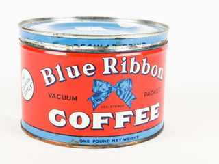 BlUE RIBBON COFFEE ONE POUND CAN