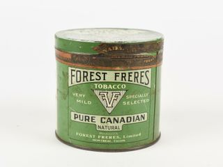 FOREST FRERES PURE CANADIAN TOBACCO 1 2 POUND CAN