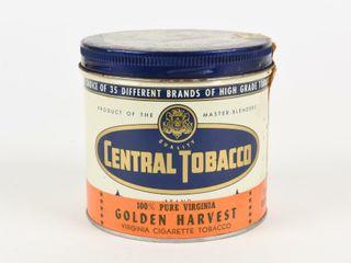 CENTRAl TOBACCO GOlDEN HARVEST ONE HAlF POUND CAN