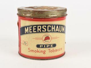 MEERSCHAUM PIPE TOBACCO 75 CENT 1 2 POUND CAN