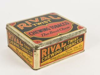 RIVAl TWIST CHEWING TOBACCO 5 lBS NET lARGE BOX