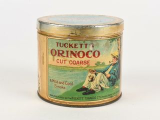 TUCKETT S ORINOCO CUT COARSE TOBACCO 1 2 lB  CAN