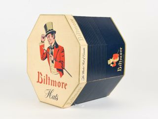 BIlTMORE  MASTER HAT OF CANADA  CARDBOARD BOX ONlY