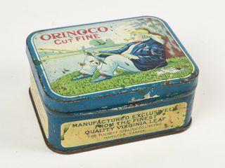 ORINOCO CUT FINE SMAll TOBACCO TIN