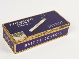 MACDONAlD S BRITISH CONSOlS lONG 100 S
