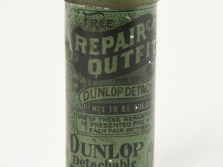 RARE VERY EARlY DUNlOP TIRES REPAIR OUTFIT