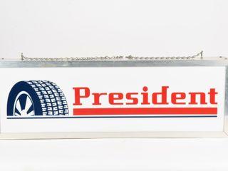 PRESIDENT TIRE D S lIGHT BOX