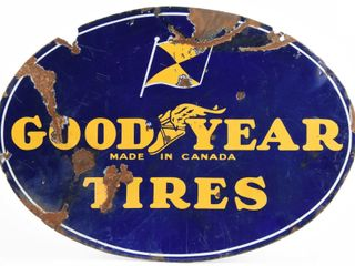 GOODYEAR TIRES MADE CANADA DSP SIGN