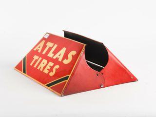 ATlAS TIRES TIN TIRE STAND