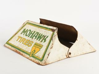 MOHAWK TIRES TIN TIRE STAND