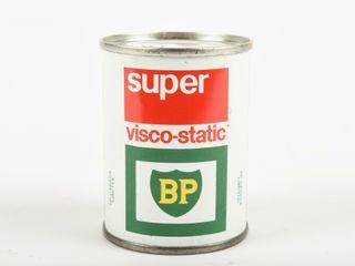 BP SUPER VISCO STATIC OIl CAN 4 OZ  ADV  COIN BANK