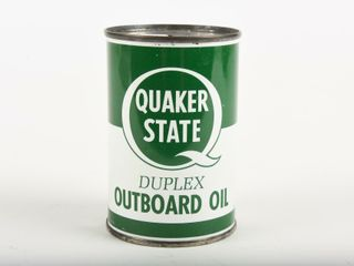 QUAKER STATE OUTBOARD OIl 10 OZ  ADV  SAVING BANK