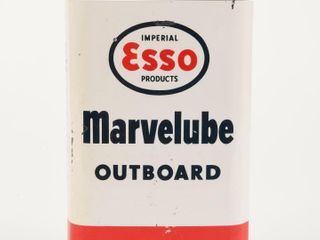 ESSO MARVElUBE OUTBOARD OIl QUART CAN