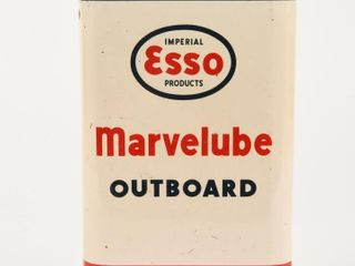 IMPERIAl ESSO MARVElUBE OUTBOARD OIl IMP  QT  CAN