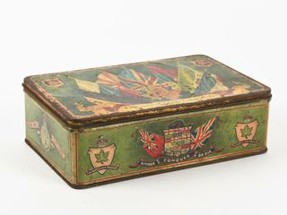 CANADIAN EXPEDITIONARY FORCES CHRISTIE BROWN TIN