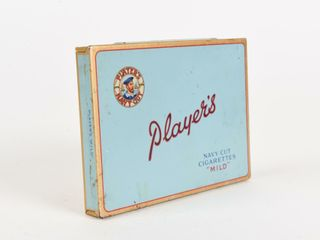 PlAYER S NAVY CUT CIGARETTES  MIlD  FlAT 50