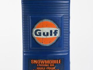 GUlF SNOWMOBIlE ENGINE OIl IMP  QT  CONTAINER