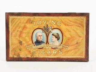IRVING CIGARS ROYAl DUKE   DUCHESS CIGAR BOX