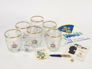 GROUPING OF ONTARIO PROVINCIAl POlICE COllECTIBlES