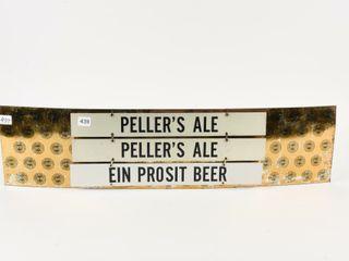 AlE   BEER HANGING SIGNS   BEER PlATE BACKER