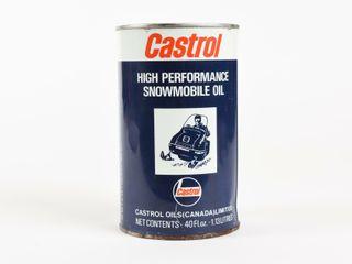 CASTROl SNOWMOBIlE 40 Fl  OZ  CAN